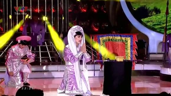 """Hoài Lâm """"lên đồng"""" với """"Tiếng trống Mê Linh"""" khiến khán giả chết lặng ảnh 6"""