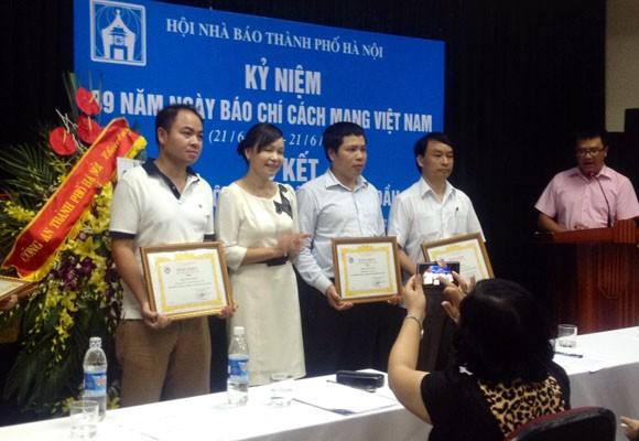 Hội Nhà báo TP.Hà Nội gặp gỡ, chúc mừng người làm báo Thủ đô nhân ngày 21-6 ảnh 1