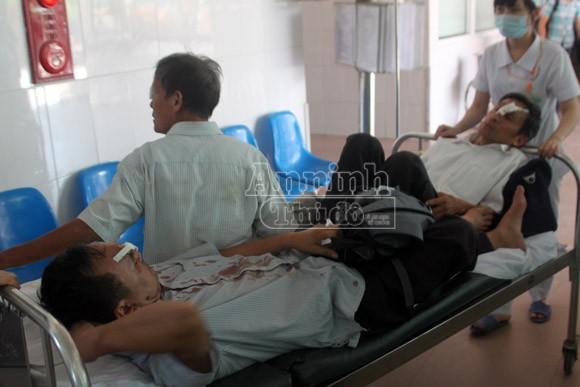 Danh tính 20 người Hà Nội bị thương trong vụ xe khách đâm xe tải ở Nghệ An ảnh 5