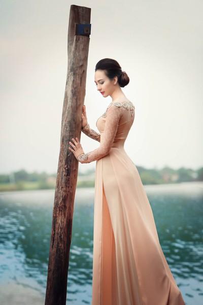 Ngắm vẻ đẹp ngọt ngào của Hoa hậu Ngọc Diễm ảnh 6