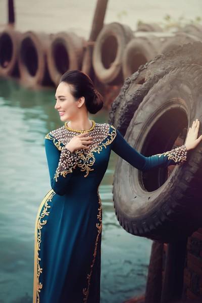 Ngắm vẻ đẹp ngọt ngào của Hoa hậu Ngọc Diễm ảnh 7