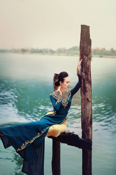 Ngắm vẻ đẹp ngọt ngào của Hoa hậu Ngọc Diễm ảnh 8
