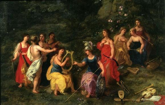Huyền thoại về 9 nữ thần Muses xinh đẹp ảnh 1