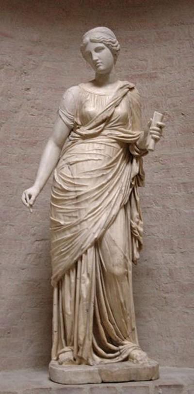 Huyền thoại về 9 nữ thần Muses xinh đẹp ảnh 2