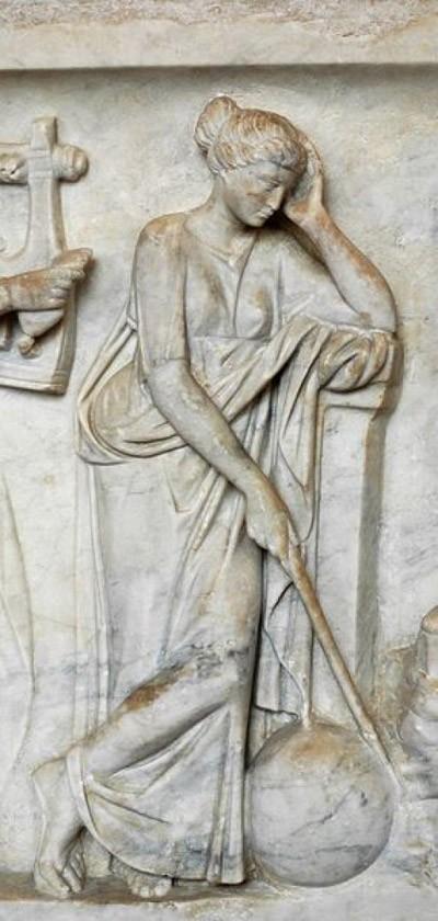 Huyền thoại về 9 nữ thần Muses xinh đẹp ảnh 10