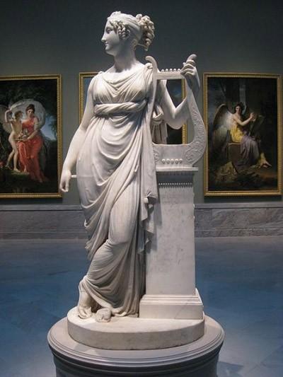 Huyền thoại về 9 nữ thần Muses xinh đẹp ảnh 8
