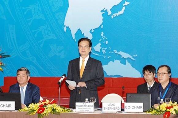 Thủ tướng Nguyễn Tấn Dũng dự khai mạc Hội nghị Bộ trưởng APEC ảnh 1