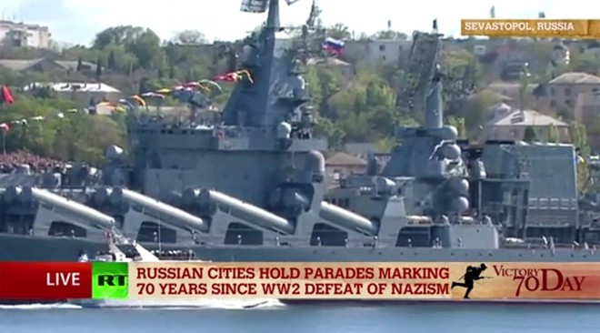 Lễ duyệt binh hùng tráng tại Quảng trường Đỏ - Moscow ảnh 9
