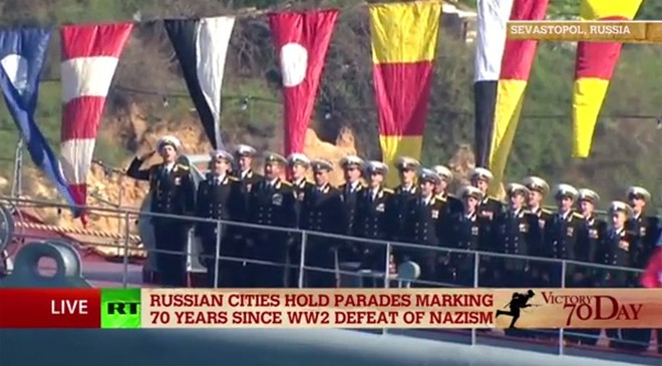 Lễ duyệt binh hùng tráng tại Quảng trường Đỏ - Moscow ảnh 6
