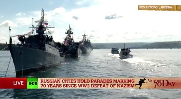 Lễ duyệt binh hùng tráng tại Quảng trường Đỏ - Moscow ảnh 2