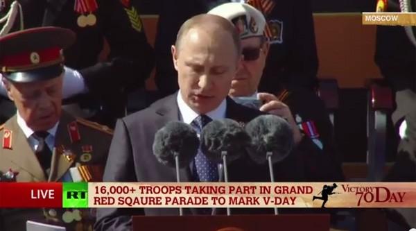 Lễ duyệt binh hùng tráng tại Quảng trường Đỏ - Moscow ảnh 18