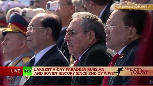Lễ duyệt binh hùng tráng tại Quảng trường Đỏ - Moscow ảnh 19