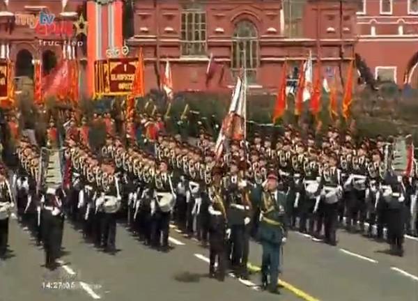 Lễ duyệt binh hùng tráng tại Quảng trường Đỏ - Moscow ảnh 21