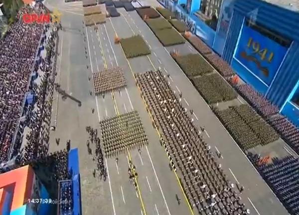 Lễ duyệt binh hùng tráng tại Quảng trường Đỏ - Moscow ảnh 24