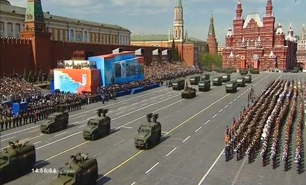 Lễ duyệt binh hùng tráng tại Quảng trường Đỏ - Moscow ảnh 41