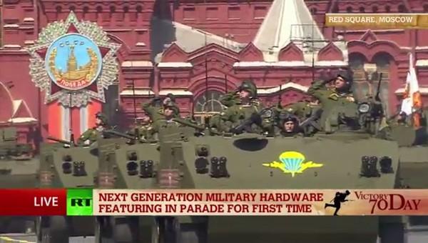Lễ duyệt binh hùng tráng tại Quảng trường Đỏ - Moscow ảnh 43