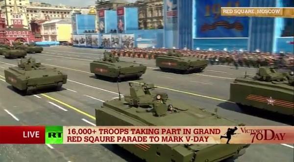 Lễ duyệt binh hùng tráng tại Quảng trường Đỏ - Moscow ảnh 42