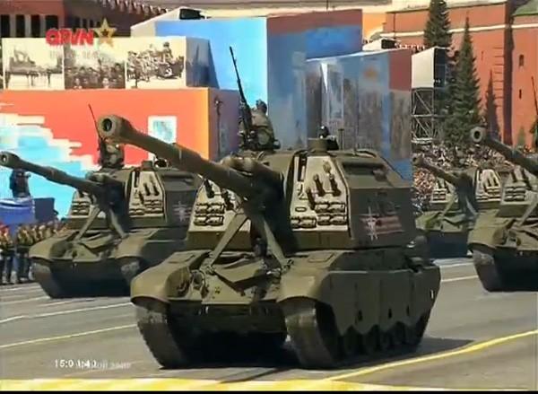 Lễ duyệt binh hùng tráng tại Quảng trường Đỏ - Moscow ảnh 45