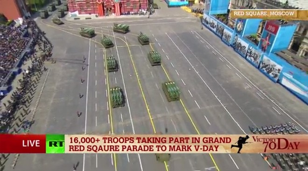Lễ duyệt binh hùng tráng tại Quảng trường Đỏ - Moscow ảnh 47