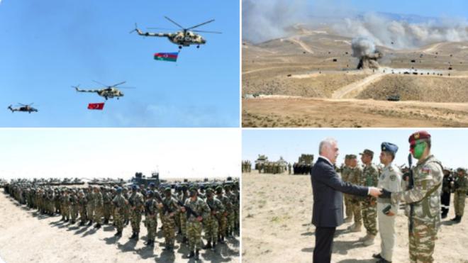Ý đồ của Thổ Nhĩ Kỳ và Azerbaijan là gì khi cùng tập trận quy mô lớn gần biên giới với Armenia ? ảnh 1