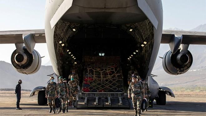 Ấn Độ tăng cường quân lương ở khu vực biên giới, quyết không lùi bước trước Trung Quốc ảnh 1