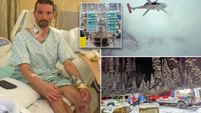 Vận động viên leo núi người Mỹ trở về từ 'cõi chết' sau gần một giờ tim ngừng đập ảnh 2