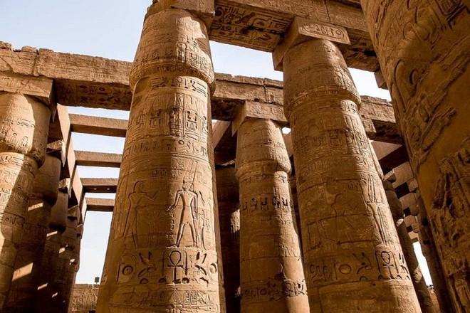 Khám phá vẻ đẹp huy hoàng của các kỳ quan Ai Cập cổ đại ảnh 15