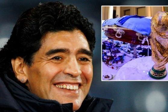 Maradona để lại di thư mong muốn được ướp xác ảnh 1