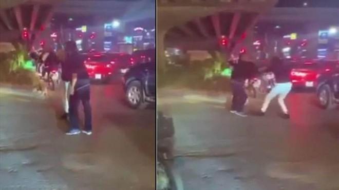 [Tin nhanh sáng 4-1-2021] Triệu tập tài xế hành hung người đi đường vì bị nhắc dừng đèn đỏ lâu ảnh 1
