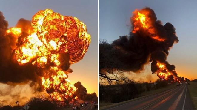 [VIDEO] Siêu tàu hỏa bốc cháy dữ dội sau cú va chạm với xe tải ảnh 2
