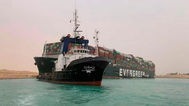 Ai Cập yêu cầu bồi thường một tỷ USD sau sự cố tắc nghẽn ở kênh đào Suez ảnh 1