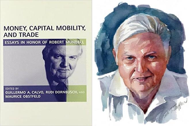"""[ẢNH] Nhà kinh tế học Robert Mundel, """"cha đẻ của đồng Euro"""" qua đời ở tuổi 88 ảnh 2"""