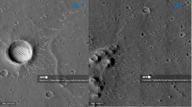 Tàu vũ trụ Trung Quốc hạ cánh thành công trên bề mặt sao Hỏa ảnh 3