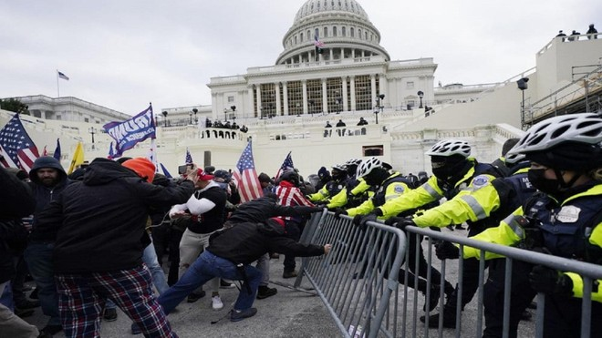 Hạ viện Mỹ thông qua dự luật điều tra vụ bạo loạn Đồi Capitol ảnh 1