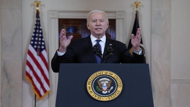 Tổng thống Joe Biden ca ngợi lệnh ngừng bắn của Israel và Hamas ảnh 1