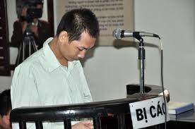 Người cha mất nhân tính Vũ Văn Quang.