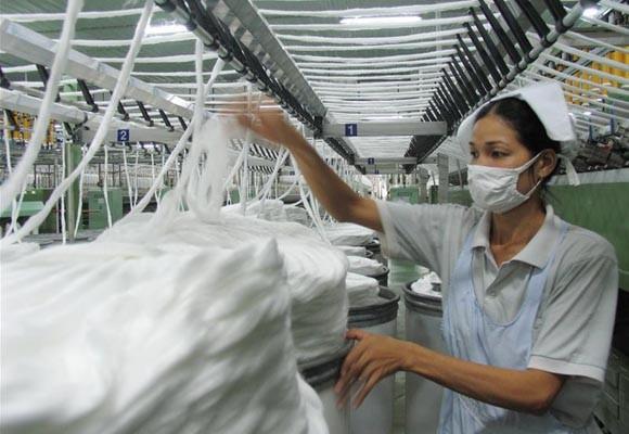 Xuất khẩu dệt may đạt gần 20 tỷ USD năm 2013 ảnh 1