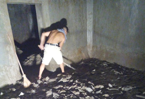Bể nước ngầm chung cư cao cấp Nam Đô bị thấm nước ảnh 3