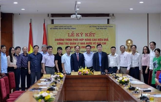 Cục Báo chí và Sở TT-TT Hà Nội phối hợp nâng cao hiệu quả quản lý báo chí ảnh 1