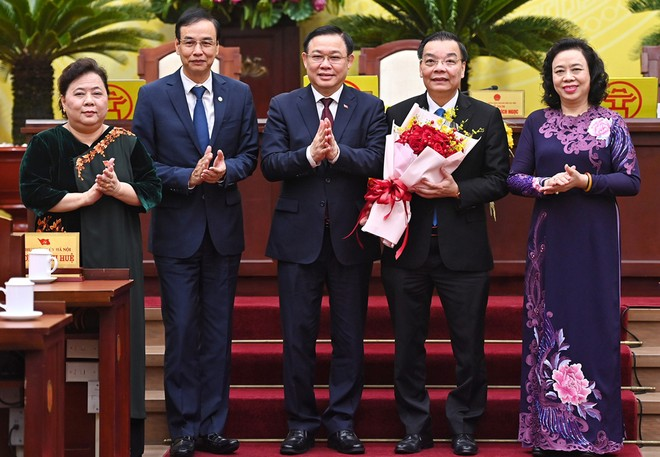 Ông Chu Ngọc Anh được bầu làm Chủ tịch UBND TP Hà Nội ảnh 1