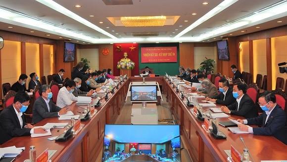 Thông cáo báo chí Kỳ họp 50 của Ủy ban Kiểm tra Trung ương ảnh 1