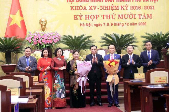 Ông Nguyễn Ngọc Tuấn được bầu giữ chức Chủ tịch HĐND TP Hà Nội ảnh 2
