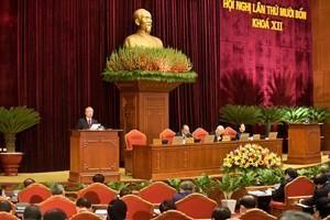 Trung ương bỏ phiếu giới thiệu nhân sự Bộ Chính trị, Ban Bí thư khóa XIII ảnh 1