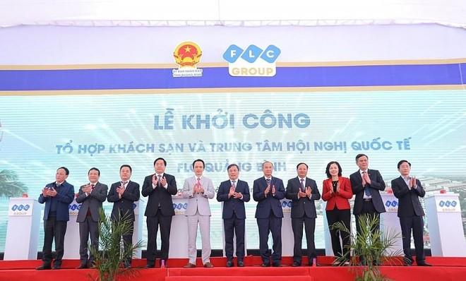 Khởi công tổ hợp khách sạn 5 sao và Trung tâm hội nghị quốc tế tại đại dự án FLC Quảng Bình ảnh 1