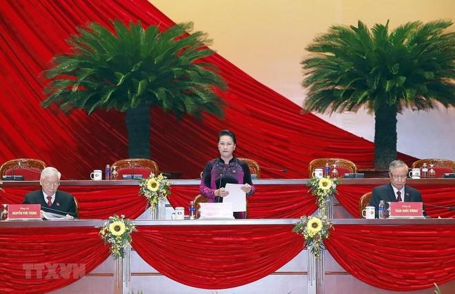 Ngày làm việc đầu tiên Đại hội Đảng XIII: 1.587 người được triệu tập đều đủ tư cách đại biểu Đại hội ảnh 1