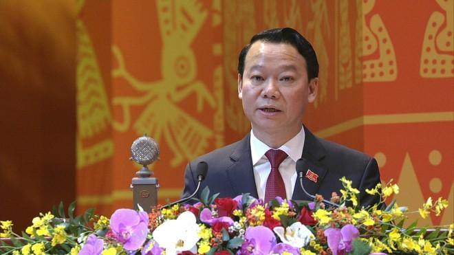 Đại hội XIII: Bí thư Thành ủy Hà Nội Vương Đình Huệ điều hành phiên thảo luận về các dự thảo văn kiện ảnh 2