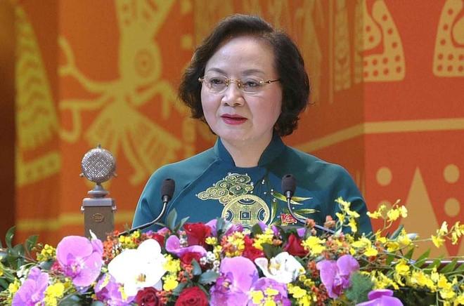 Đại hội XIII: Bí thư Thành ủy Hà Nội Vương Đình Huệ điều hành phiên thảo luận về các dự thảo văn kiện ảnh 3
