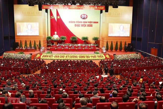 Ngày 29-1: Đại hội XIII tiếp tục xem xét về công tác nhân sự ảnh 1