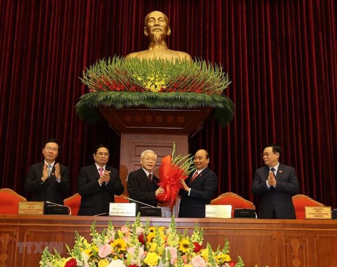 Đồng chí Nguyễn Phú Trọng được tín nhiệm bầu làm Tổng Bí thư ảnh 1