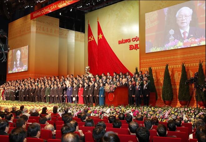 Bế mạc Đại hội Đảng toàn quốc lần thứ XIII ảnh 2